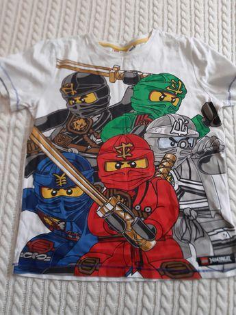 Koszulka t-shirt 146/152 Ninjago,Angry birds spongebob big hero zestaw