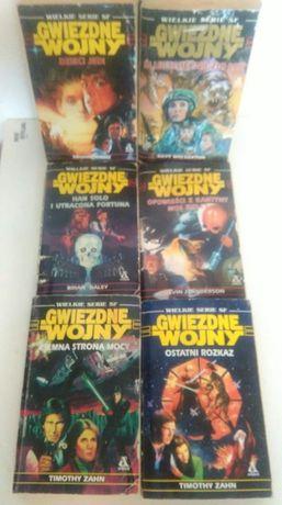 Wielkie serie s-f STAR WARS Gwiezdne Wojny kolekcja wyd. Amber ZAHN