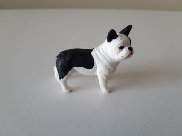 Schleich pies buldog francuski figurki zwierząt model z 2014 r.