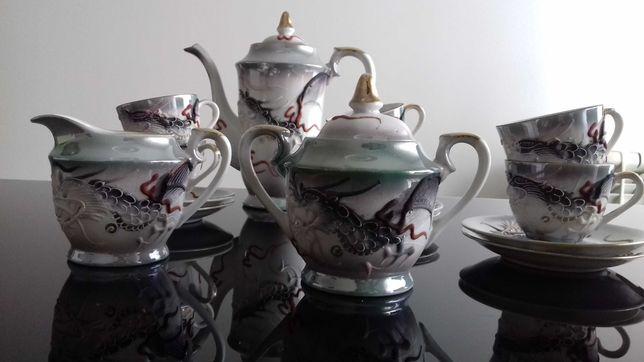 Serviço de chá oriental