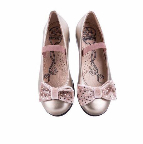 Туфли балетки детские , нарядные , 32- 33 размер , новые , туфлі
