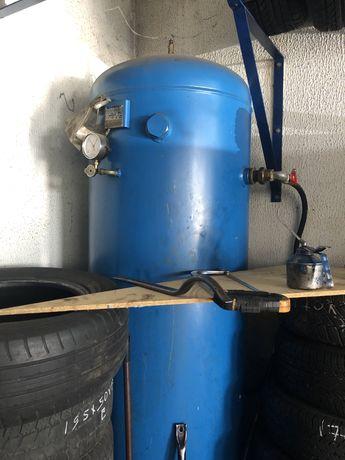 Depósito de ar de compressor