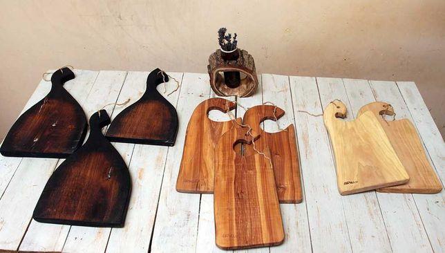 Оригинальные разделочные доски из ценных пород дерева