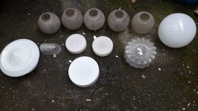Varios vidros para candeeiros antigos