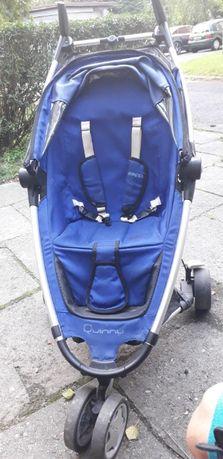 Wózek quinny niebieski