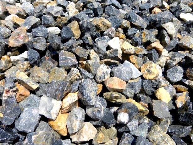 Grys Ogrodowy Ozdobny Kamień Niebieski Dekoracyjny Ogród Granit Kora