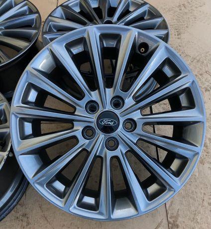 Oryginalne alufelgi Ford 5x108 17 cali Czujniki Mondeo Focus Kuga ST