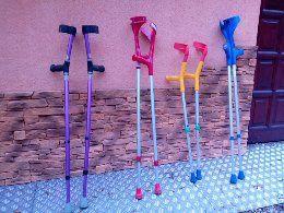 Kule ortopedyczne,inwalidzkie,różne rozmiary. Tanio!