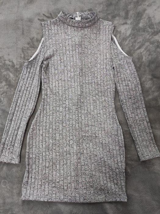 Платье короткое серебристое Умань - изображение 1