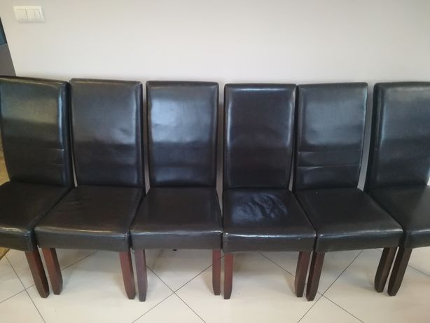 Krzesła eko-skóra