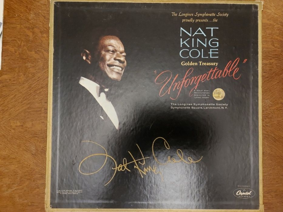 "Nat King Cole, Nat King Cole Golden Treasury ""Unforgettable"", USA 1966 Rabka-Zdrój - image 1"