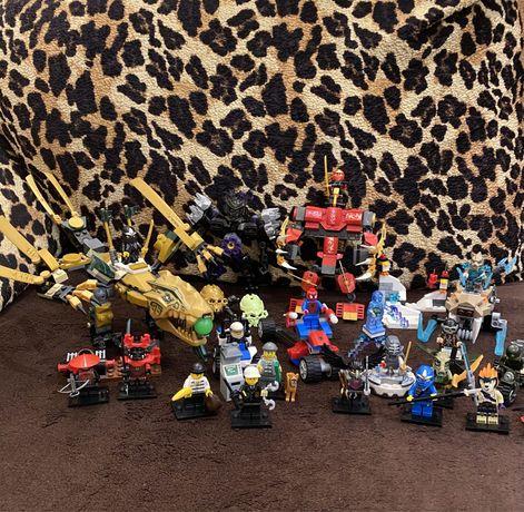 Конструктор Lego Ninjago,Super heroes,Marvel,City,Chima,Bionicle