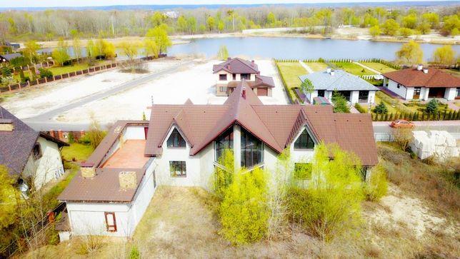 Дом берег Днепр - фарватер, 60 сот, 650000$, рядом Rivera Zoloche