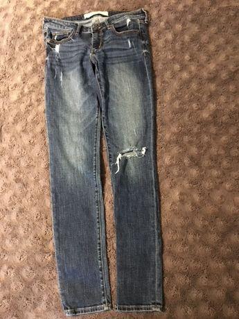 Jeansy rurki spodnie Abercrombie&Fitch