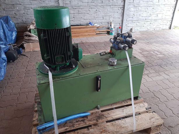 Zasilacz hydrauliczny z silnikiem 15kw Agregat hydrauliczny