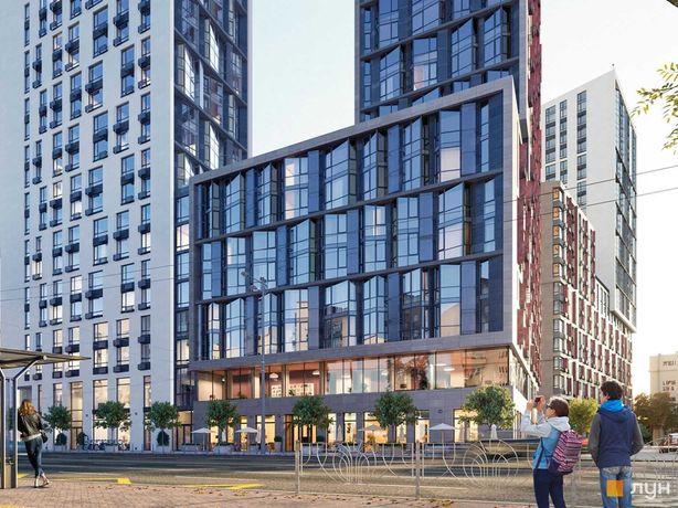 Видовая 1к квартира с панорамными окнами в ЖК бизнес-класса Time.