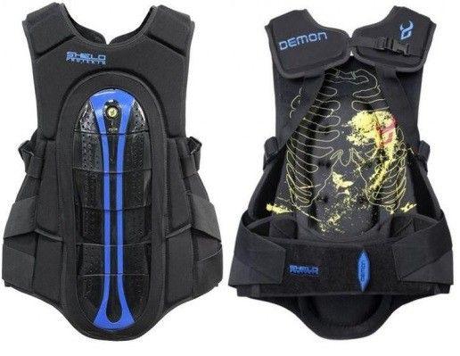 PROTECTOR (de costas) Demon Shield Spine Guard