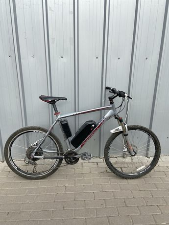"""Электровелосипед на базе Cannondale trail 5 26"""" рама 20"""""""