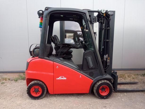 Wózek Widłowy LINDE H20T 391 LPG 2014 rok Triplex 4 Sekcje