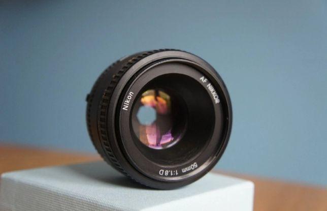 Nikkor AF 50mm f/1,8 D Nikon