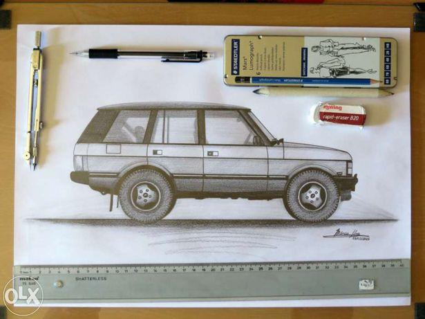 Range Rover Classic - Arte Original