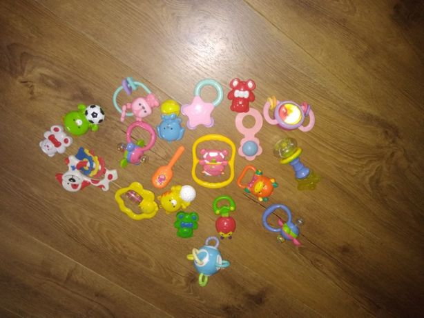 Zabawki-grzechotki