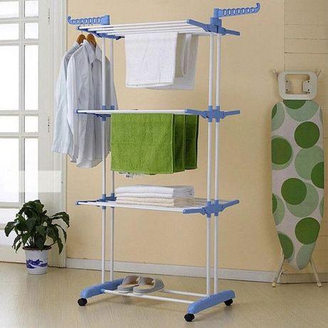 Универсальная сушилка для белья многоярусная сушилка для одежды 173 см
