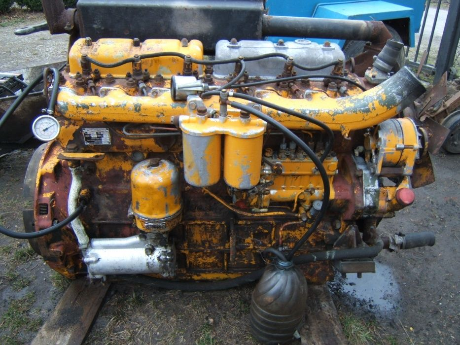Silnik Zetor / Ursus 6 cyl 120KM 160KM z agregatu Stoszowice - image 1
