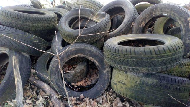 Opony używane dużą ilość do recyklingu oddam