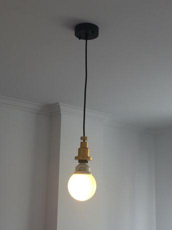 Candeeiro de teto com lâmpada led