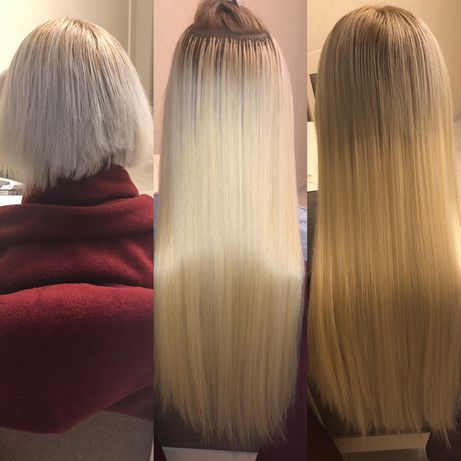 Профессиональное наращивание волос.опыт работы 10лет