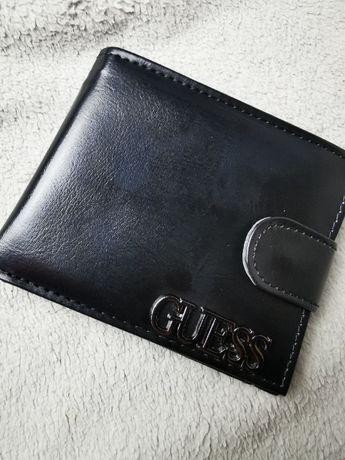 Portfel Skóra Guess skórzany portfele