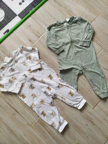 Hm h&m piżamy piżamki chłopięce niemowlęce 74