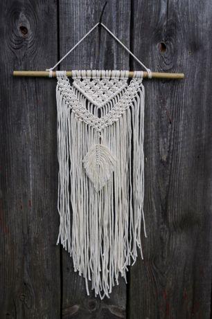 makrama boho ozdoba ślub sznurek eco handmade