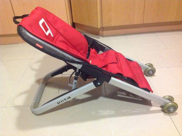 Cadeira / Espreguiçadeira Bébé c/ Rodas e Saco de Transporte.