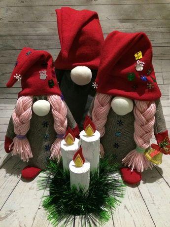 Гном,семья гномов,новогодний декор