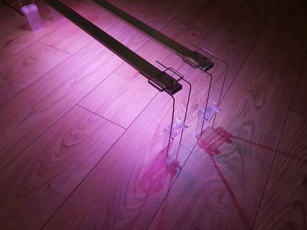 Dwie belki led power / oświetlenie led do akwarium / po 20 wat!
