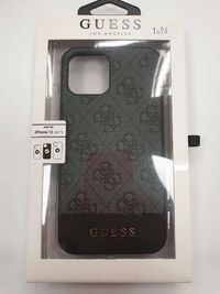 Etui GUESS iPhone 12 / 12 Pro GUHCP12MG4GLGR