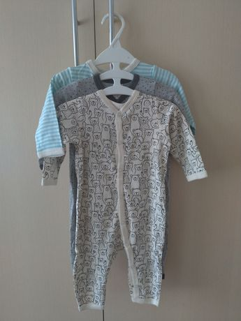 Человечки h&m zara carters комбез слип слипик ромпер пижама