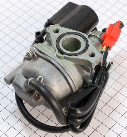 Карбюратор с электроклапаном HONDA DIO, TACT, LEAD 50/90 Хонда ДИО