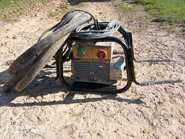 Przetwornica częstotliwości ENAR AFE 2000 MT + wibrator, buława  54mm