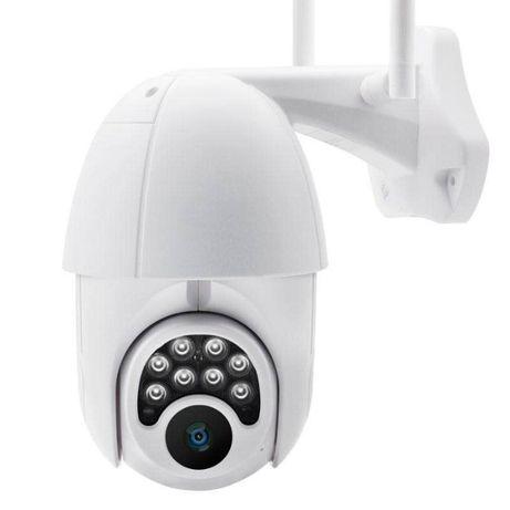 Câmara Vídeovigilância, Rotativa, WiFi, FullHD, Infravermelho 6x Zoom