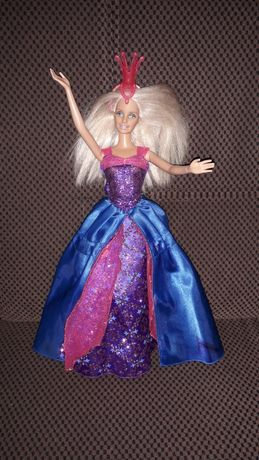 lalka barbie z regulowaną sukienką