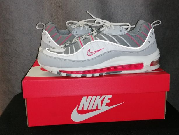 Nike Air Max 98 kolorystka Grey Fog