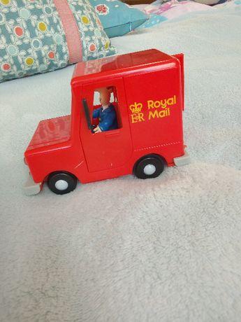 listonosz Pat, auto z figurką i paczką