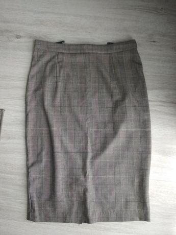 Spódnica ołówkowa w kratkę Mohito r. 38