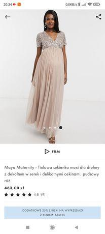 Sukienka ciążowa Asos rozm44