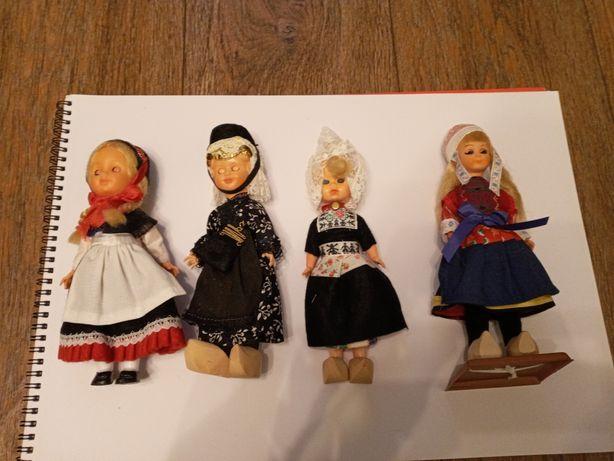 Лот из 11 кукол.  В национальной одежде. Етно