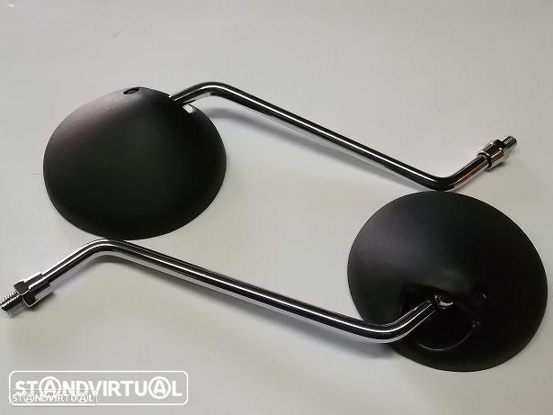Par espelhos Yamaha DT 50 LC Rosca 10 mm rosca esquerda-direita