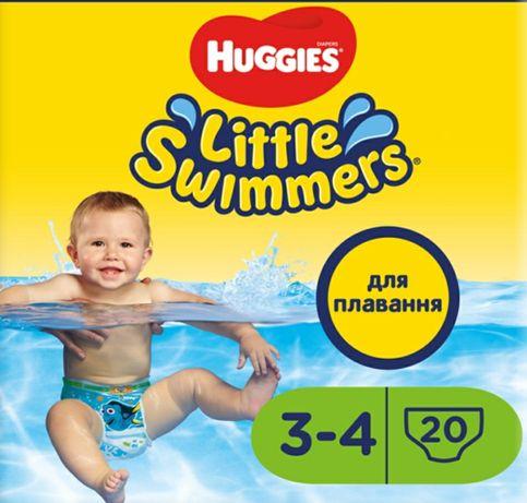 Для бассейна подгузники трусики Huggies 7-15 подгузники для плаванья